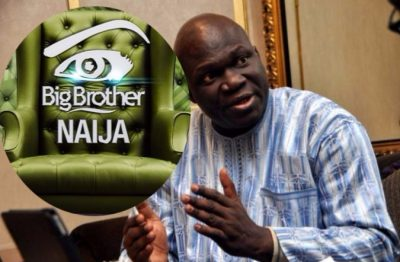Reuben Abati on Big Brother article, Television Madness