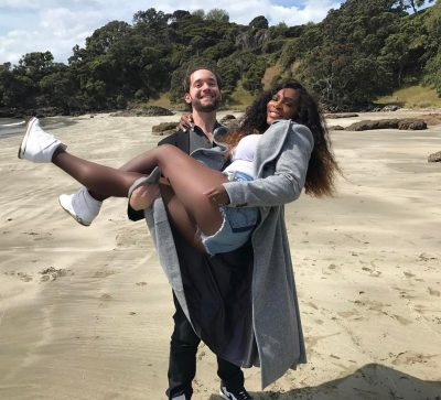 Serena Williams and husband, Alexis Ohanian