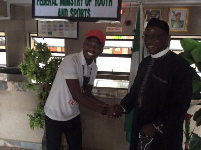 Youth Minister Pronounces Efe As 'Nigeria Youth Ambassador'