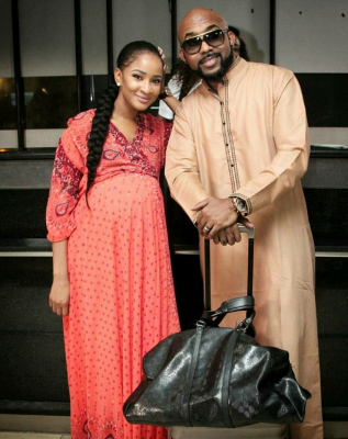 Check Out Banky W's Amazing Selfie With His Parents And Wife-to-be, Adesua