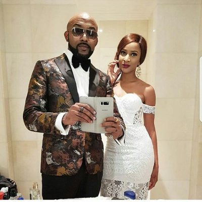 Banky W And Adesua Etomi Strike Another Epic Pose
