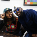 Bisola Aiyeola and Iyanya