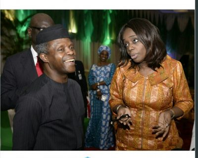 Photo Of The Day: Osinbajo And Adeosun, Coordinators Of The Economy