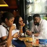 Kunle Afolayan Working On A Project With Singer, Asa In Paris