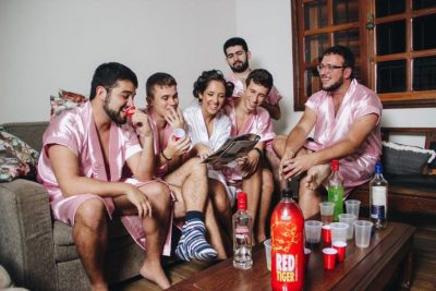 Bride-To-Be Has No Female Friends, So She Goes Hen Night With Brothers
