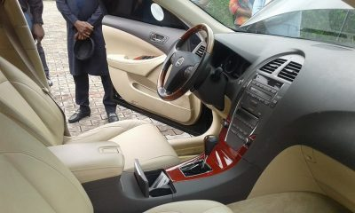Imo Chief Of Staff Dashes His Old Schoolmate Brand New Lexus