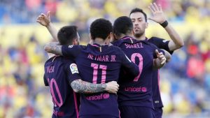 Las Palmas vs Barcelona 1-4 Highlights