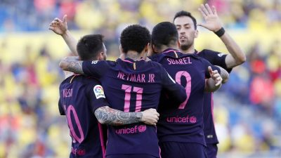 La Liga: Las Palmas vs Barcelona 1 - 4 [HIGHLIGHTS DOWNLOAD]