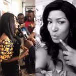 Mercy Aigbe Shows Off Cleavage