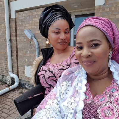 Image result for Moji Olaiya and host in canada
