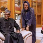 President Muhammadu Buhari and wife