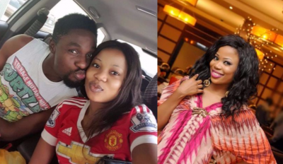 Seyi Edun Professes Love For Toyin Aimakhu's Ex Husband, Adeniyi Johnson