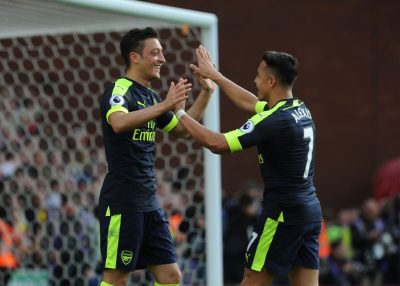 Premier League: Stoke City vs Arsenal 1 - 4 [HIGHLIGHTS DOWNLOAD]