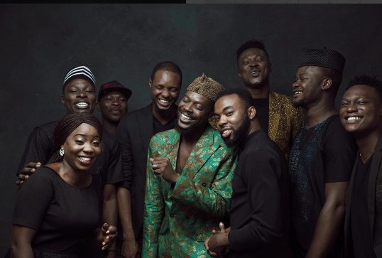 Adekunle Gold Unveils His Live Band, Gives Reason For His Move
