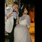 Toolz and husband, Tunde Demuren