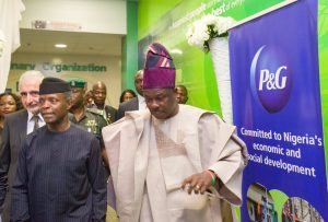 Osinbajo Joins Governor Amosun To Commission New Factory In Ogun