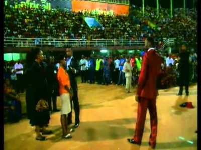 Apostle Suleman Ministers In Sierra Leone's Largest Gathering