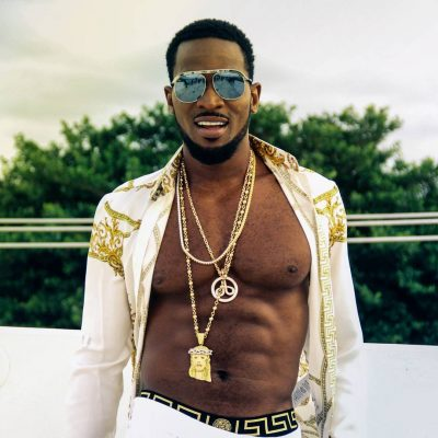 D'banj Looks Flawless In Versace As He Shows Off Budding Six-Pack