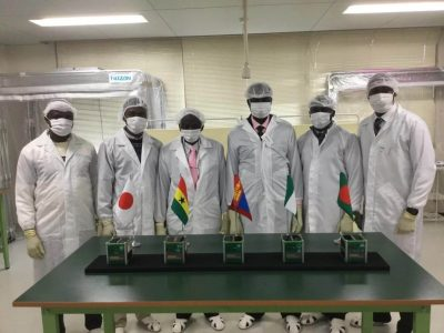 FUTA Sets Nigerian Record, Launches Satellite Into Space