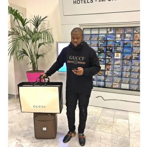 'Be Humble', Hushpuppi Warns Competitors As He Blows N3.3m In One Night