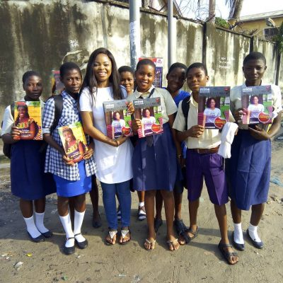Juliana Olayode: Toyo Baby Celebrates Birthday With School Students