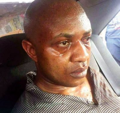 Evans Weeps Bitterly As He's Being Placed In Cell With 'Common Criminals'