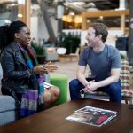 Lola Omolola, Founder Of 1m+ Facebook Group Meets Mark Zuckerberg In USA