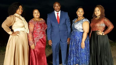 43-year-old Man With 4 Wives Wants All Men To Be Polygamist!