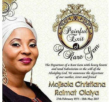 Fans Flare Up At Moji Olaiya Burial Committee For Selling T-shirts