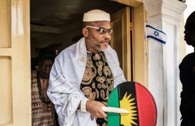 Storm Hits Biafra As FG Prepares To Send Nnamdi Kanu Back To Kuje Prison