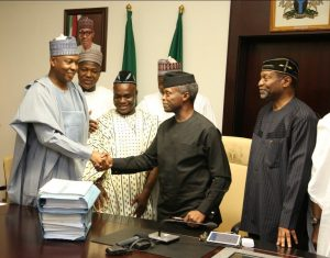 National Assembly And Osinbajo Disagree Over 2017 Budget