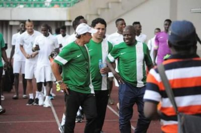 Rohr Says His Boys Are Ready To Take Down Cameroon