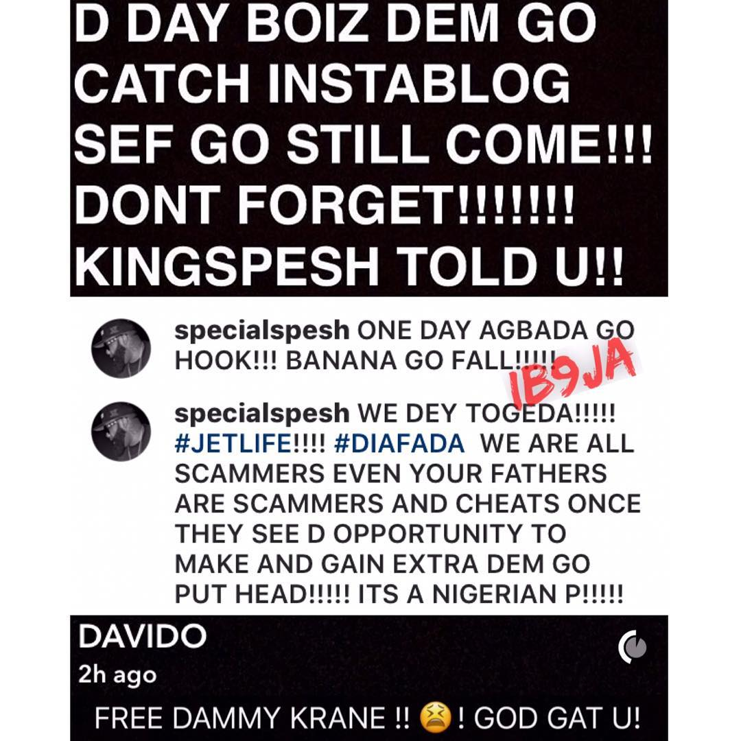We Are All Scammers - Special Spesh Reacts To Dammy Krane's Arrest