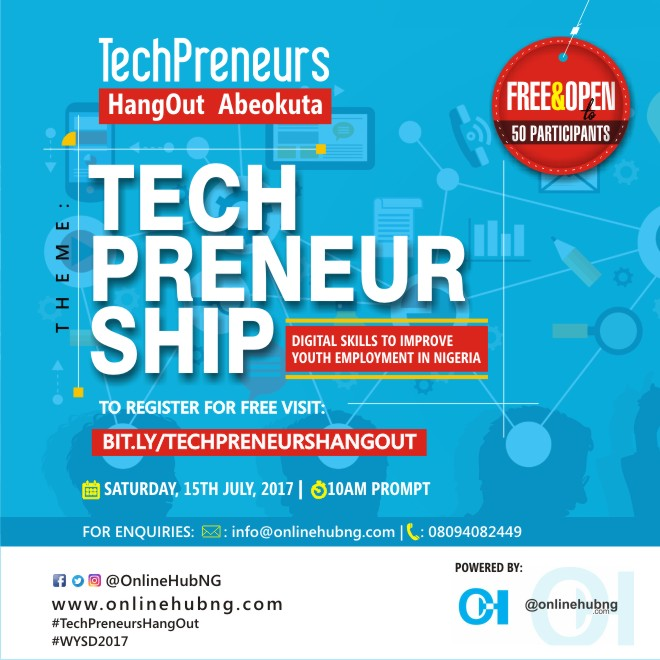 TechPreneurs Hangout In Abeokuta