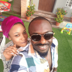 Actor, Jim Iyke Pays Tonto Dikeh A Visit As They Get Goofy