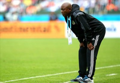 Super Eagles Players Observe A Minute Silence In Honour Of Late Keshi
