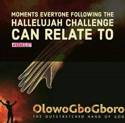 The #HallelujahChallenge Moments Every Follower Can Relate To