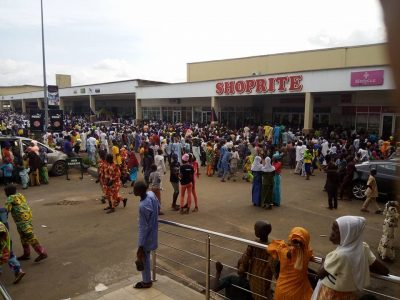 See The Huge Crowd That Gathered At Ilorin Shoprite On Sallah Day