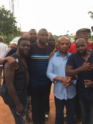 Policeman Who Sustained Injury During The Arrest Of Evans Rejoices