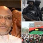 Tension In Umuahia As Security Vans Flood Nnamdi Kanu's Hometown.