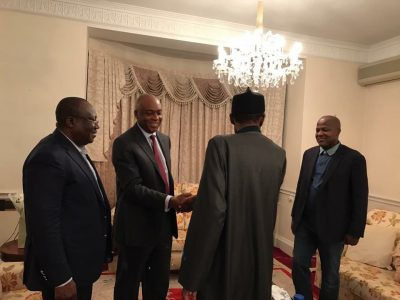PDP Governors To Visit President Buhari In London Today