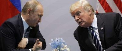 The Moment Trump And Putin Meet Face-to-face At G-20 Summit