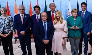 Ivanka Trump at G-20 Summit