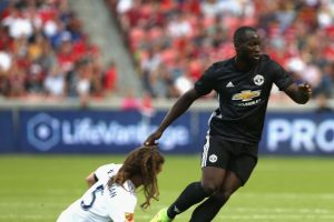 Romelu Lukaku Makes Scoring Debut In Man Utd Against Real Salt Lake