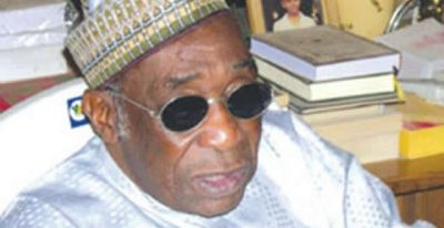 JUST IN: Former Nigerian Minister, Maitama Sule Is Dead