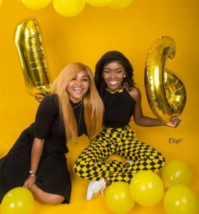 Mercy Aigbe's Daughter, Michelle Gentry Turns 16