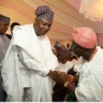 Ooni of Ife and Bukola Saraki