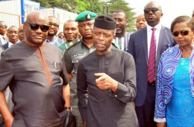 Osinbajo Launches World's Biggest Fertiliser Plant In Rivers Today