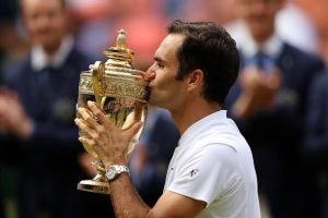Roger Federer Wins #Wimbledon Title For The 8th Time