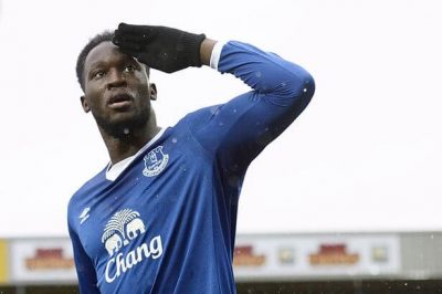 Everton's Lukaku Finalizes Move To Manchester United For £75m